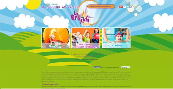 diseño web labrujula